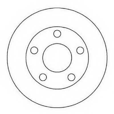 Тормозной диск JURID 562005JC - изображение