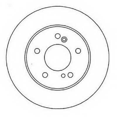 Тормозной диск JURID 562014JC - изображение