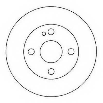 Тормозной диск JURID 562022JC - изображение