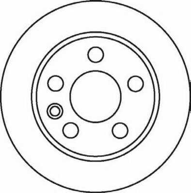 Тормозной диск JURID 562057JC - изображение