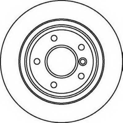 Тормозной диск JURID 562062JC - изображение