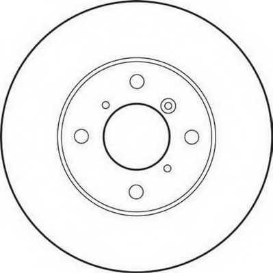 Тормозной диск JURID 562179JC - изображение