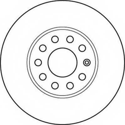 Тормозной диск JURID 562235JC - изображение