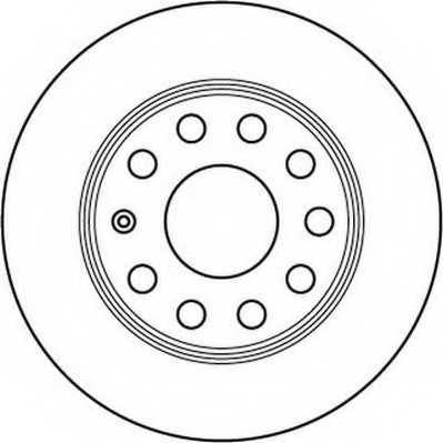 Тормозной диск JURID 562236JC - изображение
