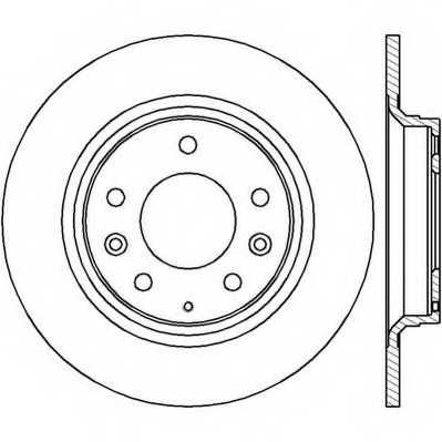 Тормозной диск JURID 562416JC - изображение