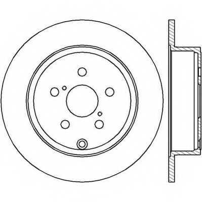 Тормозной диск JURID 562418JC - изображение