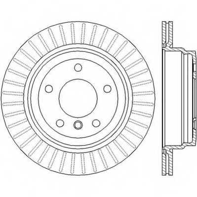 Тормозной диск JURID 562442JC - изображение