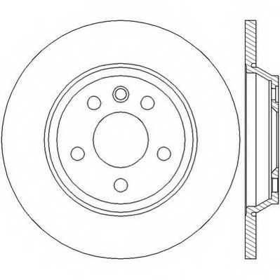 Тормозной диск JURID 562448JC - изображение