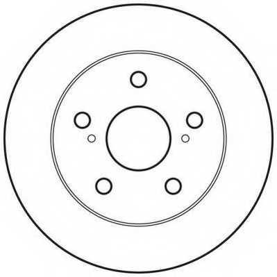Тормозной диск JURID 562617JC - изображение