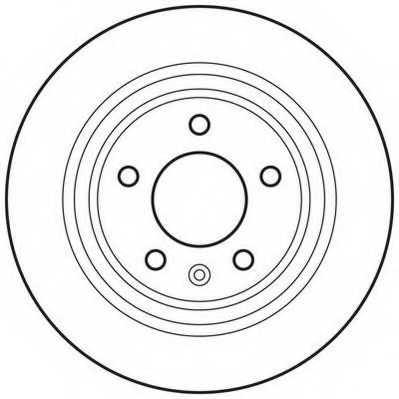 Тормозной диск JURID 562640JC - изображение