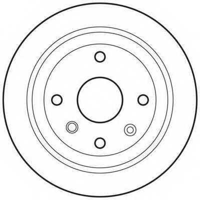 Тормозной диск JURID 562740JC - изображение