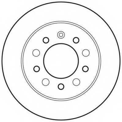 Тормозной диск JURID 562816JC - изображение