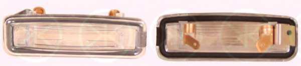 Фонарь освещения номерного знака KLOKKERHOLM 25320850 - изображение