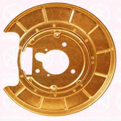 Отражатель, диск тормозного механизма KLOKKERHOLM 5536878 - изображение