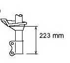 Амортизатор KYB 333192 - изображение