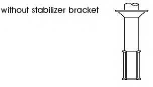 Амортизатор передний левый для KIA SEPHIA(FB), SHUMA(FB) <b>KYB Excel-G 333263</b> - изображение