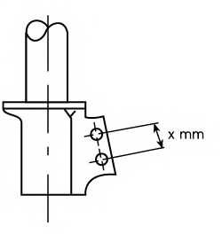Амортизатор передний для RENAULT CLIO(BB0/1/2#, CB0/1/2#, SB0/1/2#), THALIA(LB0/1/2#) <b>KYB Excel-G 333708</b> - изображение