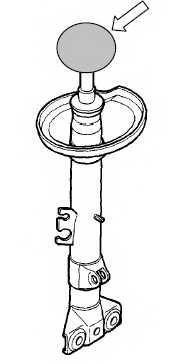Амортизатор передний левый для BMW 3(E36) <b>KYB Excel-G 333910</b> - изображение 1