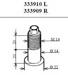 Амортизатор передний левый для BMW 3(E36) <b>KYB Excel-G 333910</b> - изображение