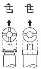 Амортизатор передний левый для TOYOTA CARINA E(#T19#) <b>KYB Excel-G 334138</b> - изображение