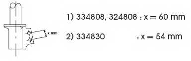 Амортизатор передний для RENAULT MEGANE(BA0/1#,DA0/1#,EA0/1#) <b>KYB Excel-G 334808</b> - изображение