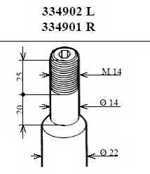 Амортизатор передний правый для BMW 3(E36) <b>KYB Excel-G 334901</b> - изображение