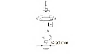 Амортизатор KYB 339708 - изображение