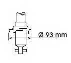 Амортизатор задний для NISSAN ALMERA(N15) <b>KYB Excel-G 341226</b> - изображение