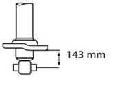 Амортизатор задний для HYUNDAI SONATA(EF), XG(XG) / KIA MAGENTIS(GD) <b>KYB Excel-G 341281</b> - изображение