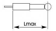 Амортизатор задний для RENAULT 19 I Chamade(L53#), 19 II Chamade(L53#), 19(853#,B/C53#,D53#,S53#) <b>KYB Excel-G 343233</b> - изображение