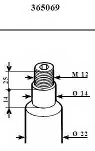 Амортизатор передний для BMW 5(E34) <b>KYB Excel-G 365069</b> - изображение