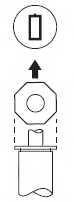 Амортизатор передний для TOYOTA CARINA E(#T19#) <b>KYB Excel-G 365081</b> - изображение