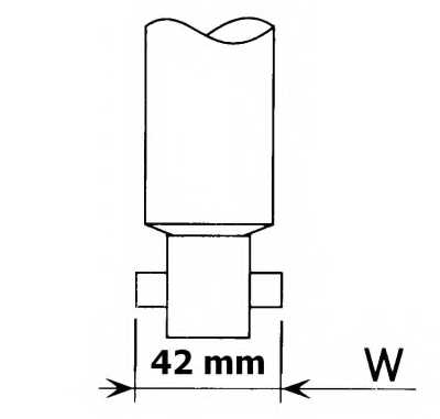 Амортизатор задний для NISSAN SERENA(C23M) <b>KYB Premium 444158</b> - изображение