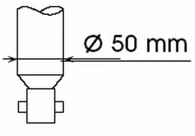 Амортизатор задний для NISSAN KUBISTAR(X76,X80) / RENAULT KANGOO Express(FC0/1#), KANGOO(KC0/1#) <b>KYB Gas A Just 551811</b> - изображение
