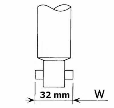 Амортизатор задний для NISSAN SERENA(C23M) <b>KYB Gas A Just 554098</b> - изображение