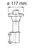 Амортизатор задний правый для HYUNDAI ACCENT(X-3) <b>KYB Premium 632103</b> - изображение