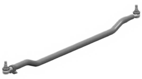 Поперечная рулевая тяга LEMFORDER 11449 02 - изображение