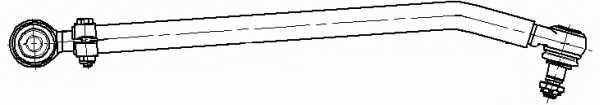 Продольная рулевая тяга LEMFORDER 2056401 - изображение