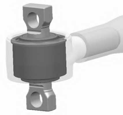 Ремонтный комплект рычага подвески LEMFORDER 23845 01 - изображение