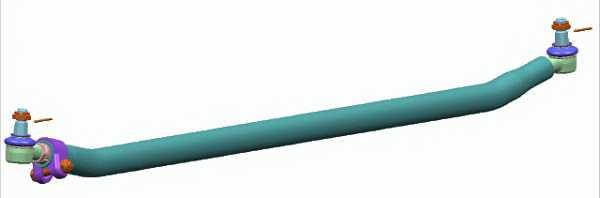 Поперечная рулевая тяга LEMFORDER 37322 01 - изображение