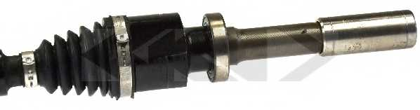 Приводной вал LOBRO 303631 - изображение 3