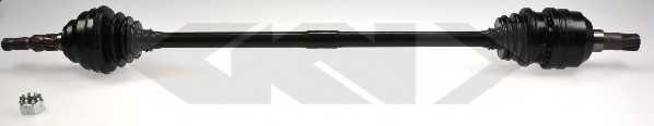 Приводной вал LOBRO 304421 - изображение