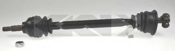 Приводной вал LOBRO 304511 - изображение