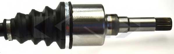 Приводной вал LOBRO 304591 - изображение 2