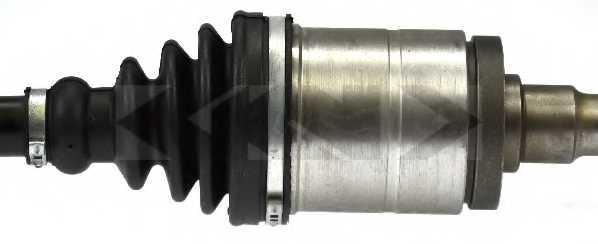 Приводной вал LOBRO 304668 - изображение 2