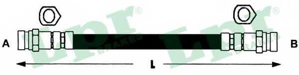 Тормозной шланг LPR 6T47942 - изображение