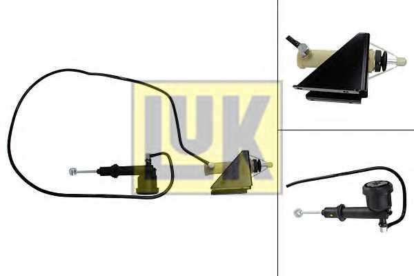 Главный / рабочий цилиндр, система сцепления LuK 513002610 - изображение