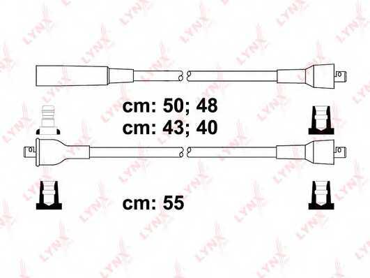 Комплект проводов зажигания LYNXauto SPE4605 - изображение