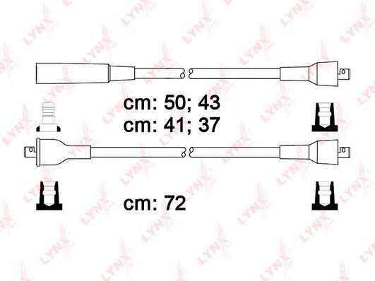 Комплект проводов зажигания LYNXauto SPE4606 - изображение