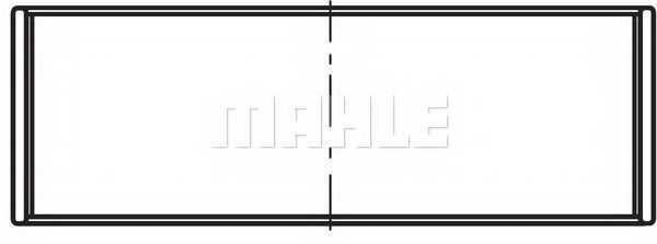 Шатунный подшипник MAHLE ORIGINAL 021 PS 20002 000 - изображение